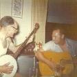 Bayard and Dale playing banjo and guitar
