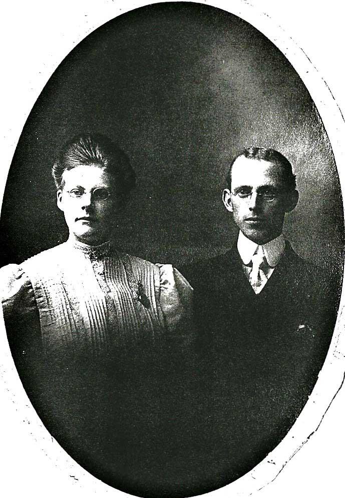 Edith and Clayton Bleistein
