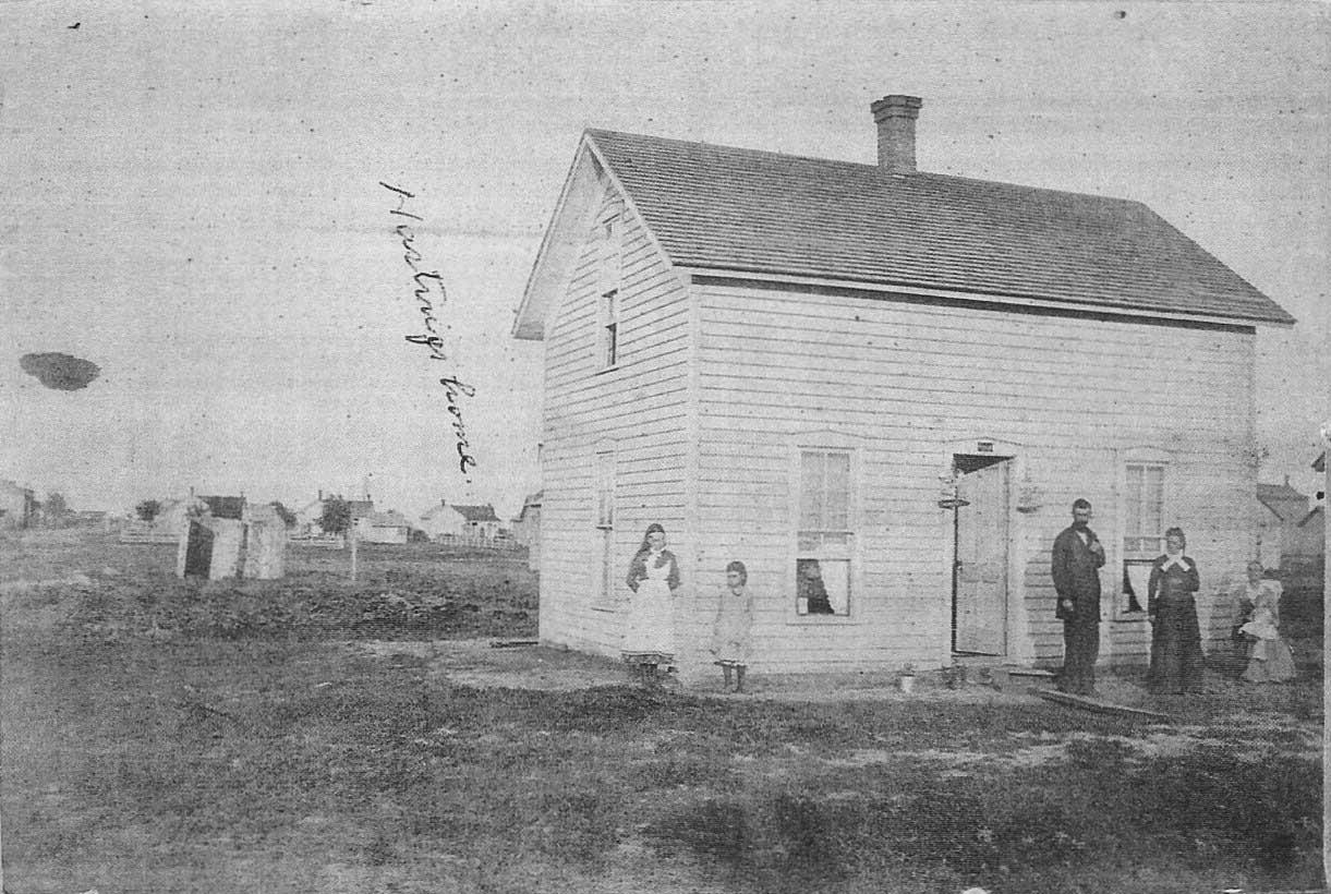 Irene leila Abbott Robert and Rebecca Kennedy and Cora Abbot in Hasting Nebraska