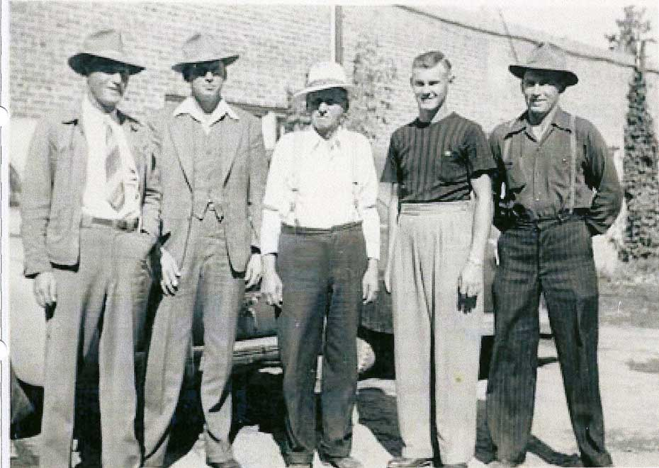 Lewis Darrell Jonas Delmas and Raymond Johnson