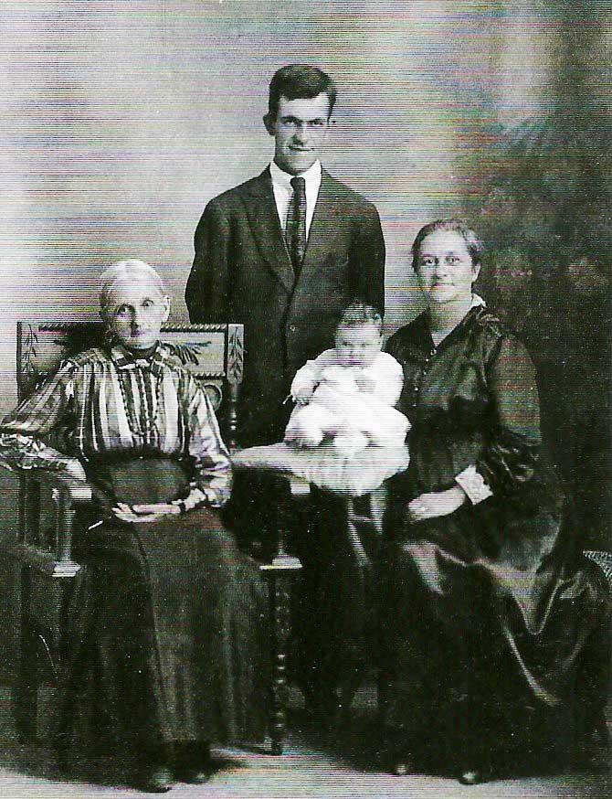 Mary Curry Mark and Ella Rowland