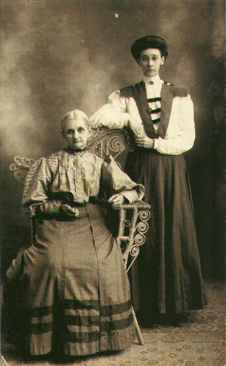 Mary and Edith Curry
