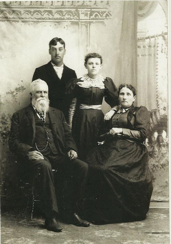 Andrew, Delila, Herman, and Josephine