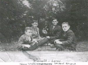 Glenn, Walter, Herbert, and Bayard