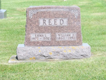 William Reed headstone
