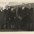Bayard, Herb, Bessie Silas, Walt, and Glenn
