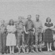 Bill, Norma, Jack, Pat Francis, Hoot, Lorraine and Bobby Harris