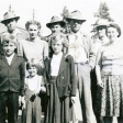 Delmas Darrell Nellie Raymond Lewis Jonas Johnson, Eileen Kight, Frank Witwicky and Karen and Eleanor Witwicky