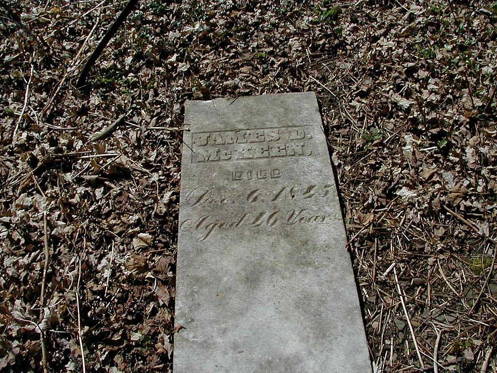 James D McKeen stone