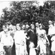 Claude Edith Kenneth Grady Kennison Eugene Kenyon Hattie Doris in back Silas Bayard Bayards girl Herbert Nora Walter Ella