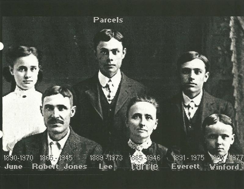 Carrie Wood Parcel Family named