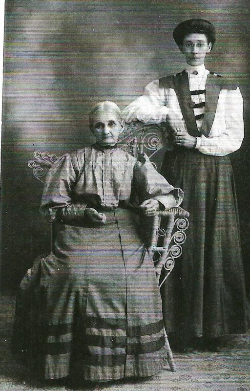 Mary Knight Curry and daughter Edith