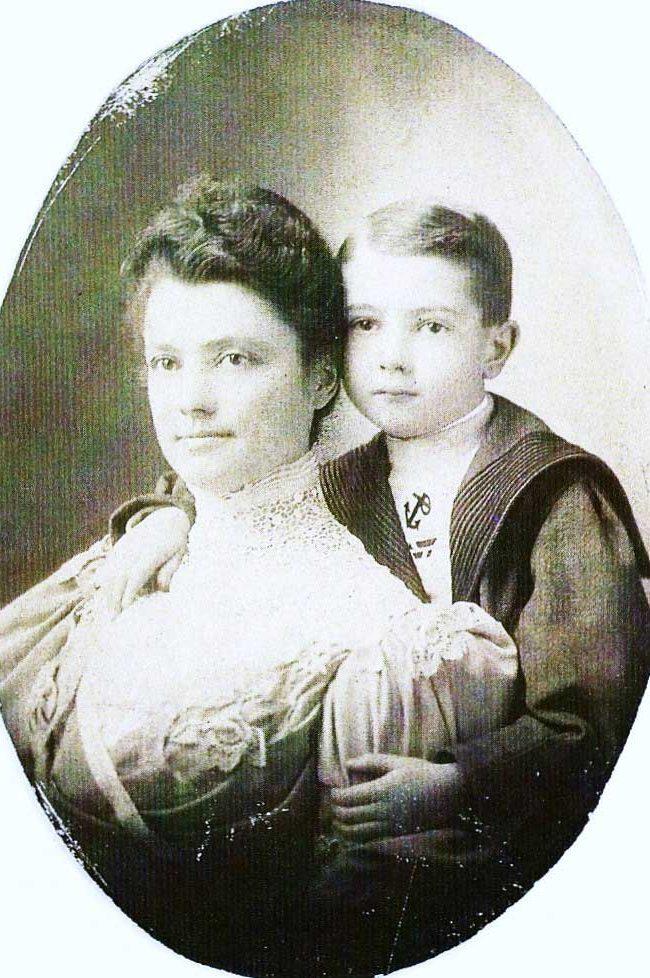 Emma Reed and Bertrum Jr